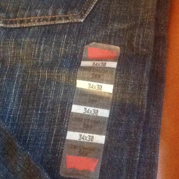 Levi's Other - Levi's   men's blue Jeans NWT